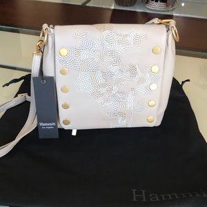 NWT Hammitt Lee Sandstone Leather Crossbody Bag
